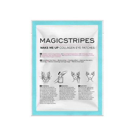 Magicstripes Wake Me Up Collagen Eye Patches Single