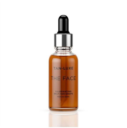 TAN-LUXE The Face Illuminating Self-Tan Drops Medium/Dark 30ml