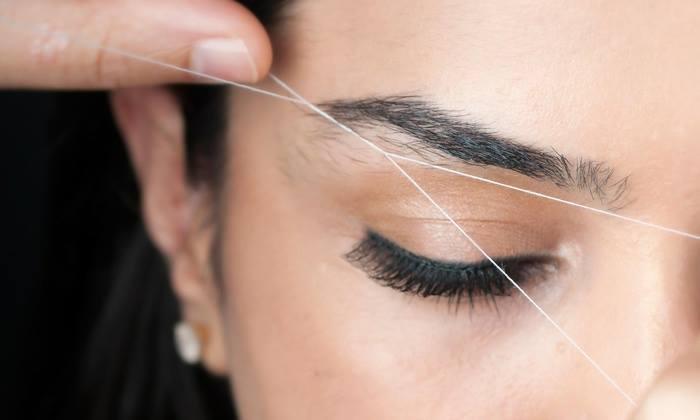 tråda ögonbryn helsingborg